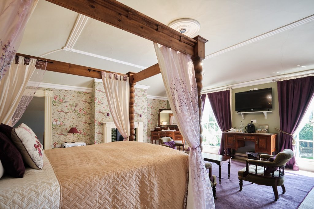 a view of Percy The Pheasant Suite at The Elm Tree
